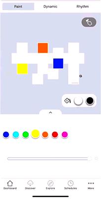 Asistente de diseño Nanoleaf Canvas
