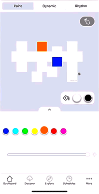Nanoleaf Canvas asistente de diseño