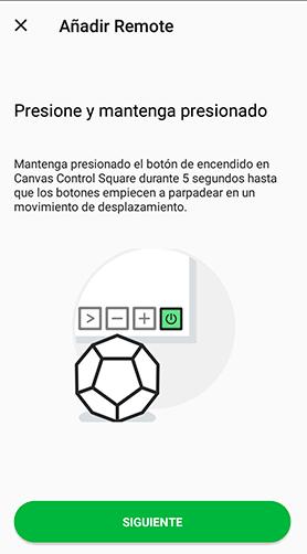 Configuracion Nanoleaf Remote App