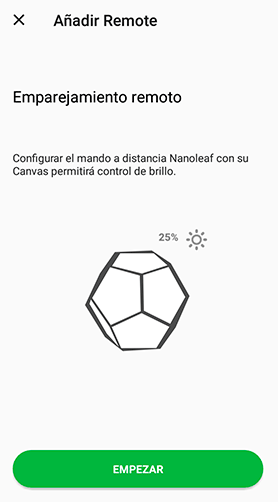 Nanoleaf Remote y Canvas