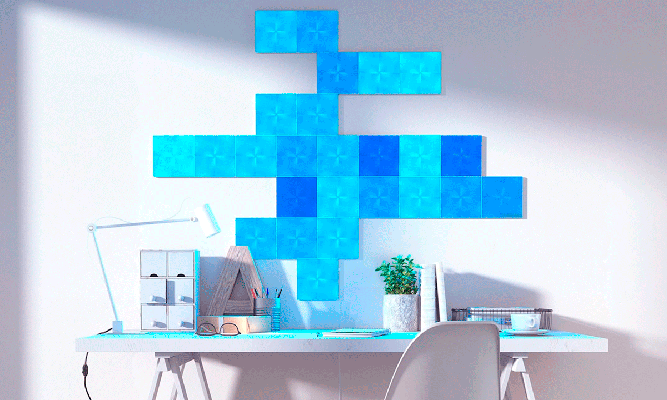 Nanoleaf Canvas decoracion