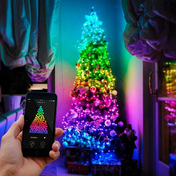 luces inteligentes de navidad