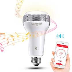 bombillas inteligente con altavoz